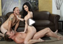 kendall karson in hardcore threesome